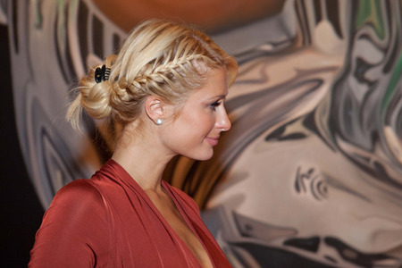 Paris Hilton updo