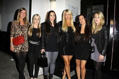 Paris Hilton & Family