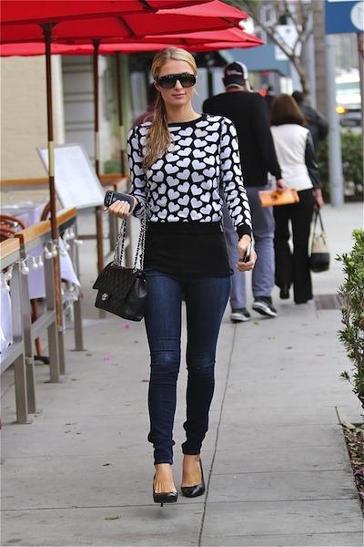 Paris Hilton casual wear