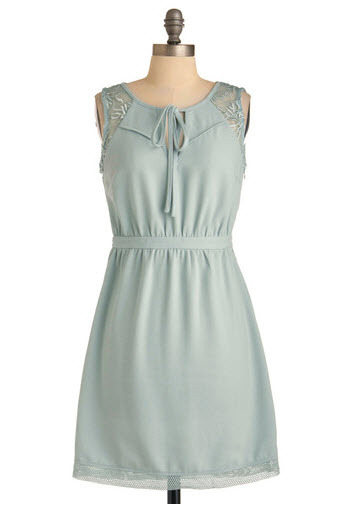 Icy Blue Dress