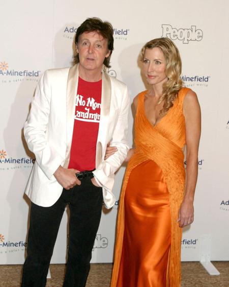Paul McCartney & Heather Mills (2005)