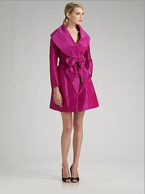 Pauw silk jacket dress
