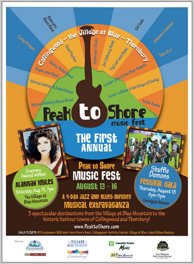 Peak to Shore Music & Art Fest