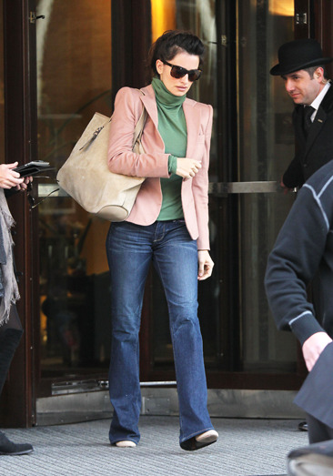 Penelope Cruz leaves her Central London hotel