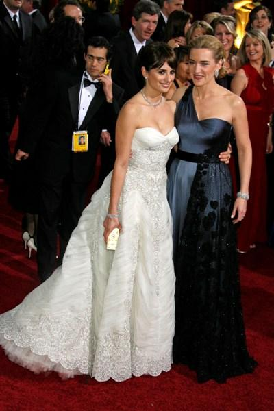 Penelope Cruz and Kate Winslet