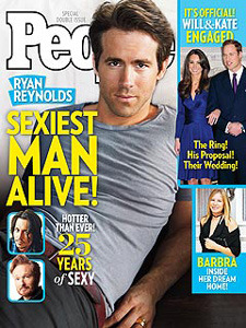 Ryan Reynolds on the cover of People