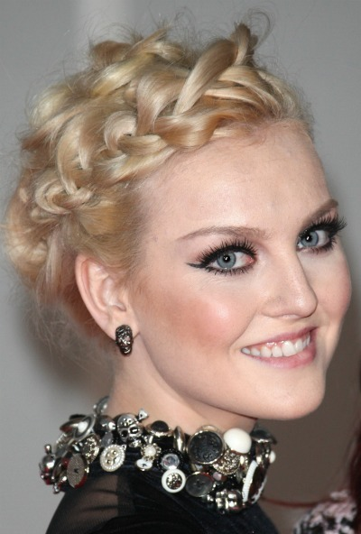 Wedding hairstyles Perrie Edwards