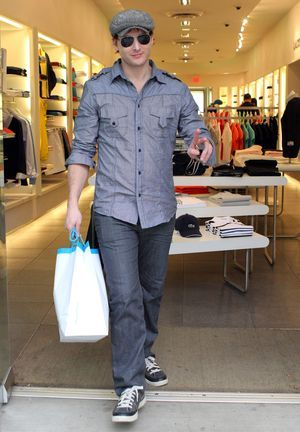 Peter Facinelli in a Utility Shirt