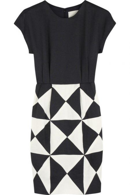 Phillip Lim Mosaic Patchwork Dress