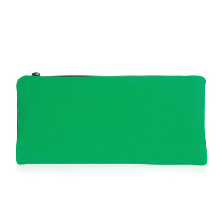 This 3.1 Phillip Lim leather clutch is an eye-catcher.
