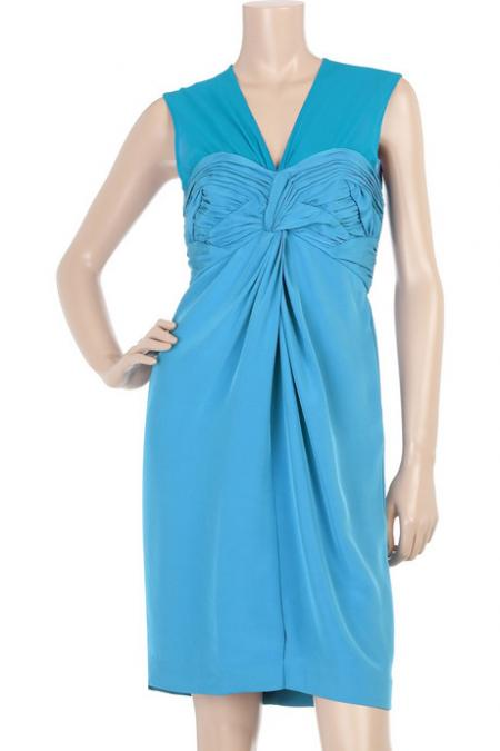 Phillip Lim Ruched Bust Dress