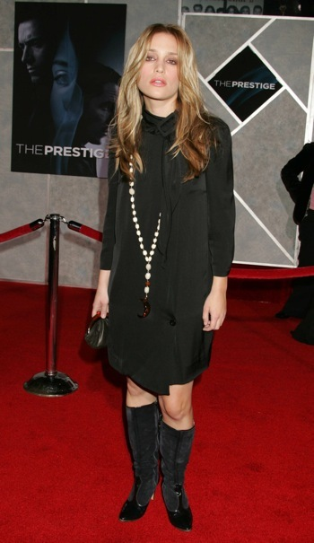 Piper Perabo at the premiere of Prestige