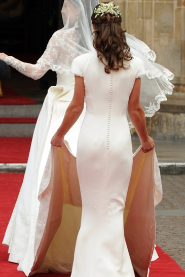 Pippa Middleton's bum is getting more and more popular.