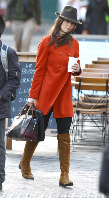 Pippa Middleton heads back to work after holiday break
