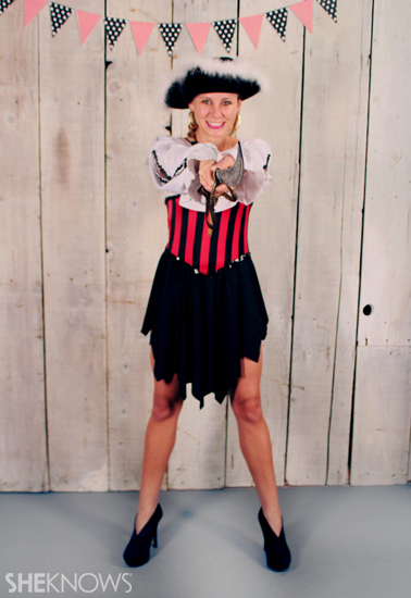 Halloween costume ideas: Lady Pirate