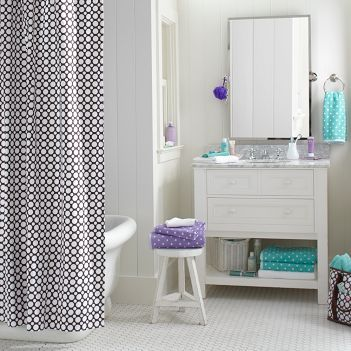Polka Dot Teen - Bathroom decorating ideas