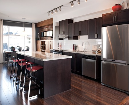 Different woods - Functional and stylish kitchens we love
