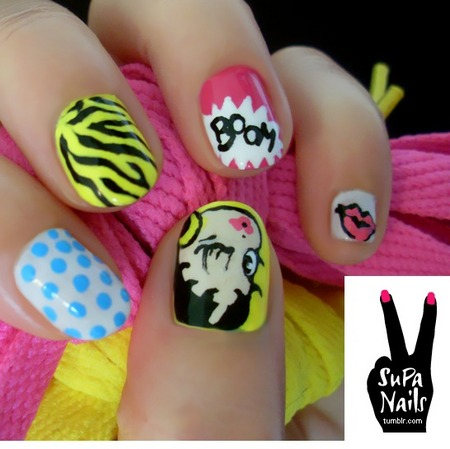 Fun & hot nail designs and styles