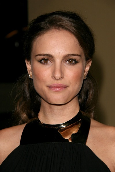 Natalie Portman with dramatic makeup