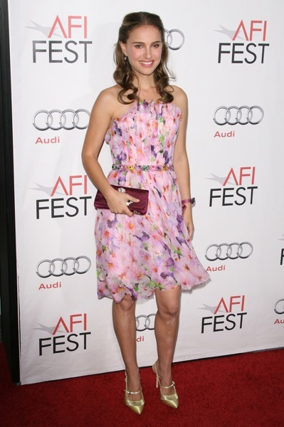 Natalie Portman's floral dress