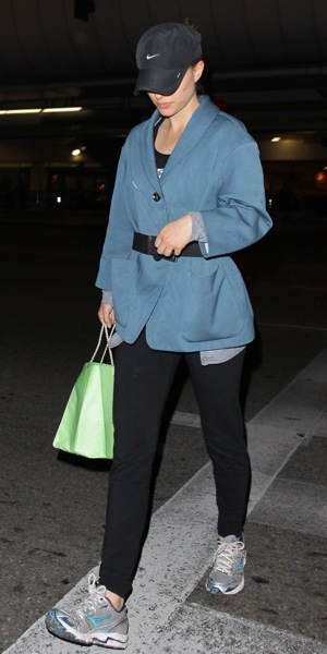 Natalie Portman's casual style