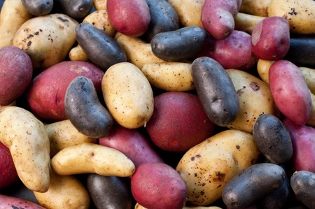 Potatoes reduce puffiness