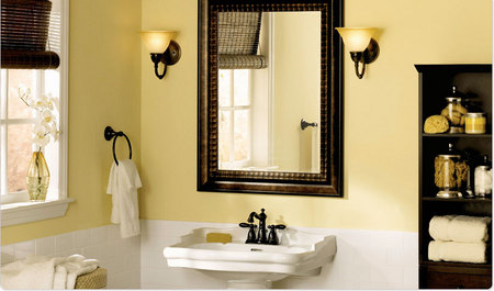 Powder Room Posh - Bathroom