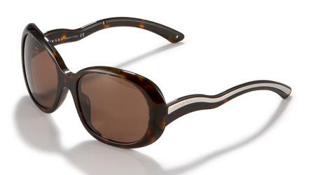 Prada Wavy Arm Sunglasses