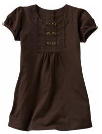 Bib-front T-shirt dress