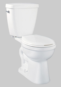 Delta Prelude 2-Piece Round Front Toilet 
