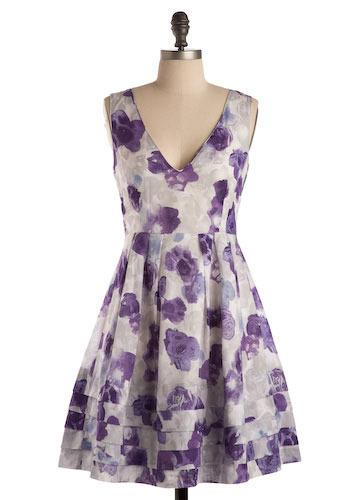 Preservation Society Dress in Peony