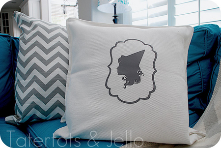 Pretty witch pillow