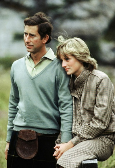 Princess Diana & Prince Charles - Honeymoon