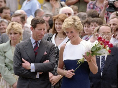 Princess Diana & Prince Charles in Hungary