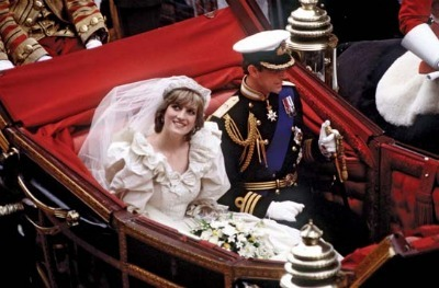 Princess Diana & Prince Charles - Wedding Day