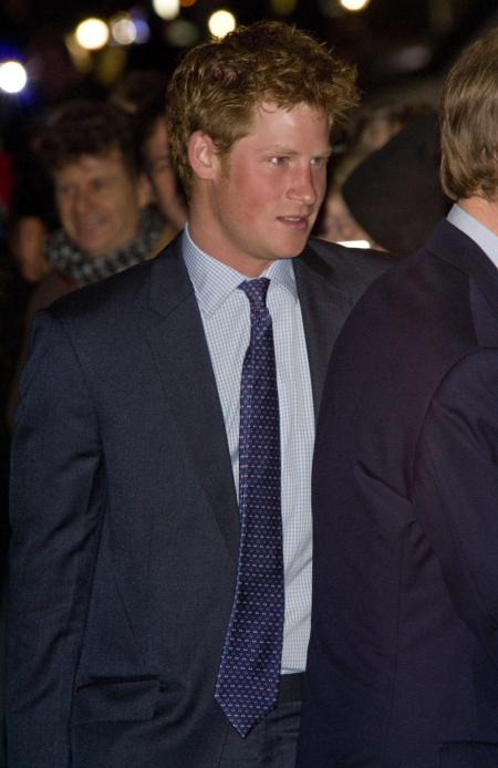 Prince Harry Stauzenbee Gala