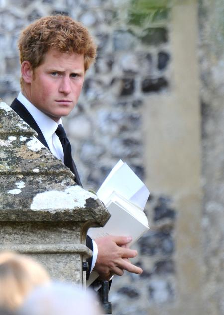 Prince Harry Thanksgiving service