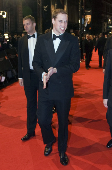 Prince William at the BAFTA Awards