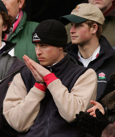 Prince William Watches Rugby