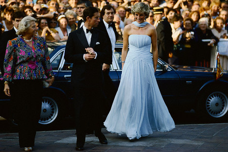 Princess Diana in Cannes