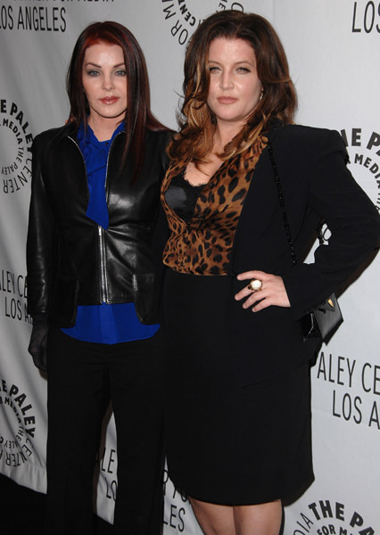 Lisa Marie and Priscilla Presley