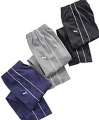 Puma Boys Flat Back Mesh Pants