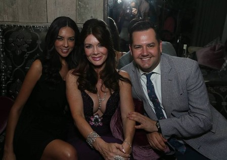 Lisa Vanderpump, Terri Seymour & Ross Mathews