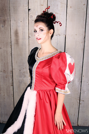 Halloween costume ideas: Queen of Hearts