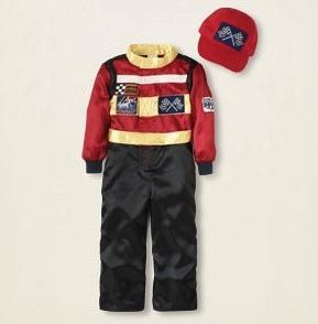 Boys Race Car Driver Costume