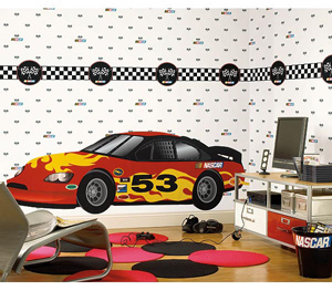 Race Car Playroom