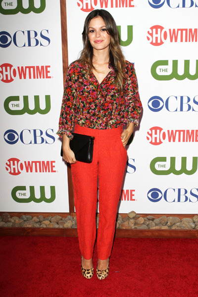 Rachel Bilson attends the CBS, The Cw and Showtime TCA Party