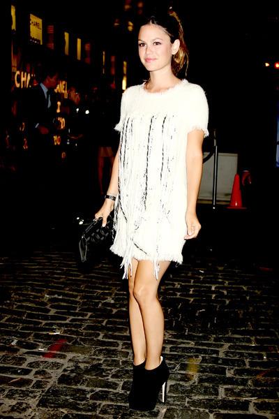 Rachel Bilson at Chanel Soho Boutique Opening