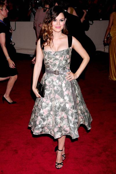 Rachel Bilson at the Costume Institute Gala Benefit