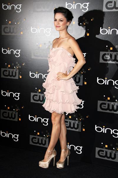 Rachel Bilson at the CW Premiere Party